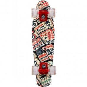 """Baby Miller U.R.O. LED Roswell 22"""" cruiser skateboard"""