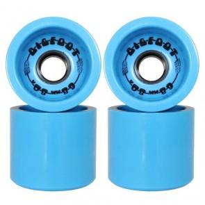 Bigfoot Boardwalks Blue 68mm 80a longboard wielen