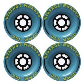Bigfoot Cored Blue 97mm Longboard Wielen (78a)