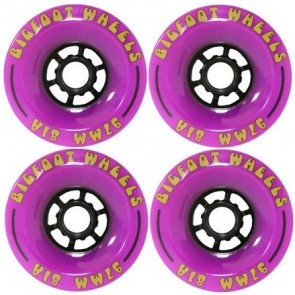 Bigfoot Cored Purple 97mm Longboard Wielen (81a)