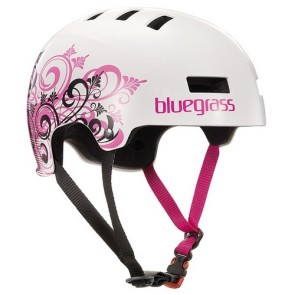 Bluegrass SUPERBOLD Lady White Pink helm