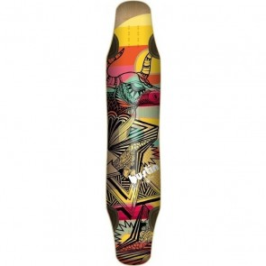 "Bustin Daenseu Dakota Graphic 44"" longboard deck"