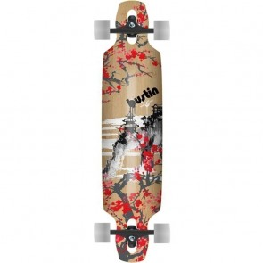 "Bustin Mission 36"" Hana Graphic longboard complete"