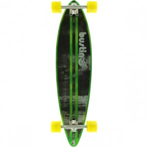 "Bustin NY Surf Cruiser 38"" pintail longboard complete"
