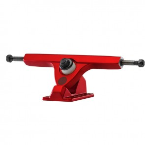 "Caliber II Fifty 10"" Satin Red longboard trucks"