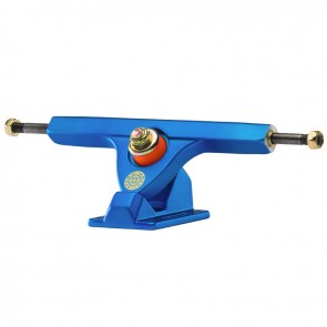 "Caliber II Fifty 10"" Satin Blue longboard trucks"
