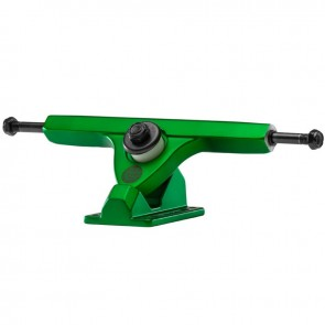"Caliber II Forty-Four 10"" Satin Green longboard trucks"