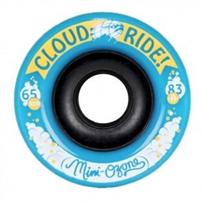 Cloud Ride Mini Ozone 65mm 83a Blue longboard wielen