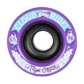 Cloud Ride Mini Ozone 65mm 86a Purple longboard wielen