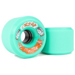 Cloud Ride Mini Slide 66mm 80a Green longboard wielen