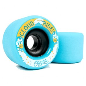 Cloud Ride Ozone 70mm 83a Blue longboard wielen