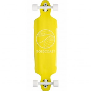 "Goldcoast Citrus Drop Through 38"" longboard complete"