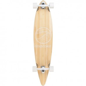 "Goldcoast Classic Bamboo Floater 44"" pintail longboard complete"