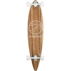 "Goldcoast Classic Zebra 44"" pintail longboard complete"