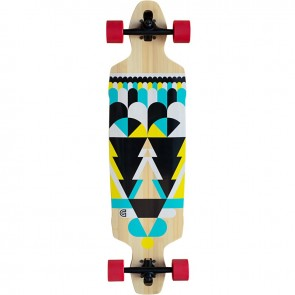 "Goldcoast Process 38"" drop-through longboard complete"