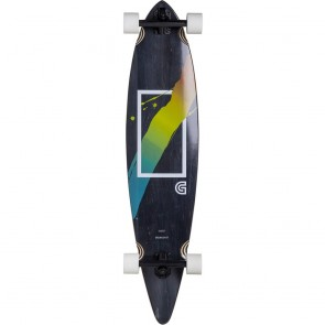 "Goldcoast The Prismatic Pintail 40"" longboard complete"