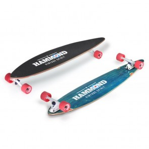 "Hammond City Surfer Pintail 46"" longboard complete"
