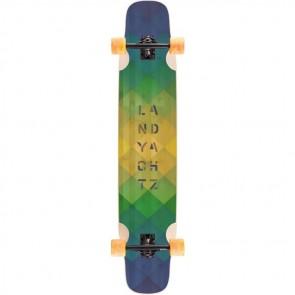 "Landyachtz Bamboo Stratus 45.5"" longboard complete"