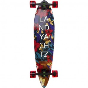 "Landyachtz Maple Chief Floral 36"" longboard complete"