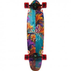 "Landyachtz Maple Ripper Tropical Nights 37"" longboard complete"