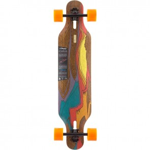 "Loaded Icarus Deluxe Paris V3 38.4"" longboard complete"