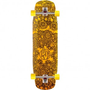 "Lush Grifter 3D 35.5"" longboard complete"