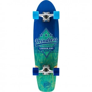 "Mindless Daily Grande II Blue 28"" cruiser complete"