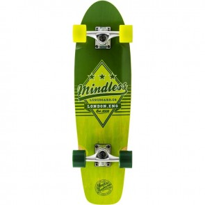 "Mindless Daily Grande II Green 28"" cruiser complete"
