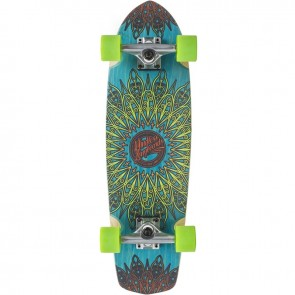 "Mindless Mandala Blue 28"" cruiser board complete"