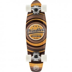 "Mindless Stained Daily II Brown 24"" mini cruiser complete"