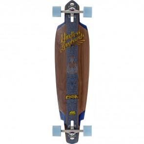 "Mindless Voodoo Lakota DT II Naturel 40"" drop-through longboard complete"