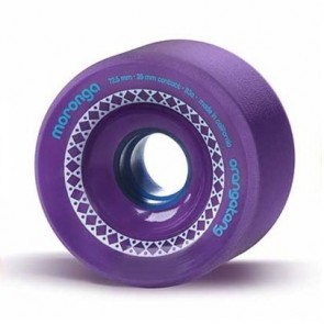 Orangatang Moronga 72.5mm 83a Purple longboard wielen