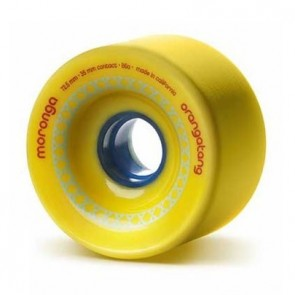 Orangatang Moronga 72.5mm 86a Yellow longboard wielen