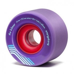 Orangatang The Kilmer 69mm 83a Purple longboard wielen