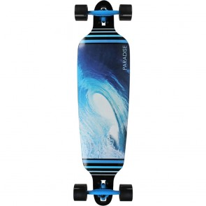 "Paradise Barrel Wave II drop-through 40"" longboard complete"