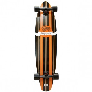 "Paradise Tommy 40"" kicktail longboard complete"