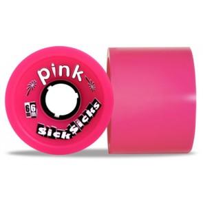 Pink SickSicks 78A 66mm longboard wielen