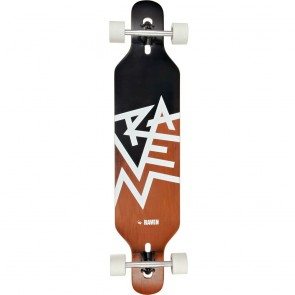 "Raven Risky 41.5"" drop-through longboard complete"