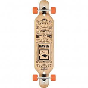 "Raven Solid Orangatang 41.5"" drop-through longboard complete"