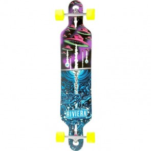 "Riviera Alien Ark 41.3"" drop-through longboard complete"