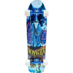 "Riviera Earth Wizard 36"" longboard complete"
