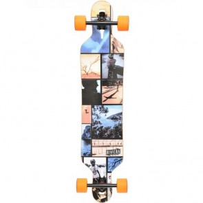 "Riviera Mountain Time 41.3"" drop-through longboard complete"