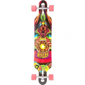 "Riviera Oracle 41.3"" drop-through longboard complete"