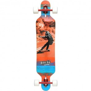 "Riviera Unbound 41.3"" drop-through longboard complete"