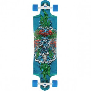 "Santa Cruz Sea God 38"" Top-mount longboard complete"