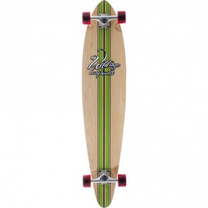 "Voltage Big Pintail Green 42"" longboard complete"